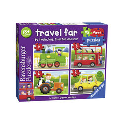 Ravensburger My first puzzle 07303 - I mezzi di trasporto, , large
