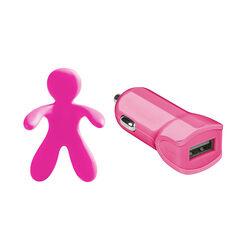 Caricabatterie con profumatore per auto Celly, , large