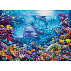 Ravensburger Puzzle 1000 pezzi 19833 - Magnifico Mondo Sottomarino, , large