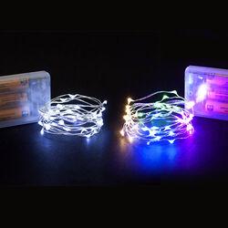Filo luci con 40 micro Led a batteria, , large