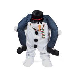 Costume natalizio spiritoso - Pupazzo di neve, , large