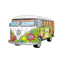 Ravensburger Puzzle 3D - Camper Volkswagen hippie, , large