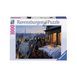 Ravensburger Puzzle 1000 pezzi 19410 - Balcone a Parigi, , large