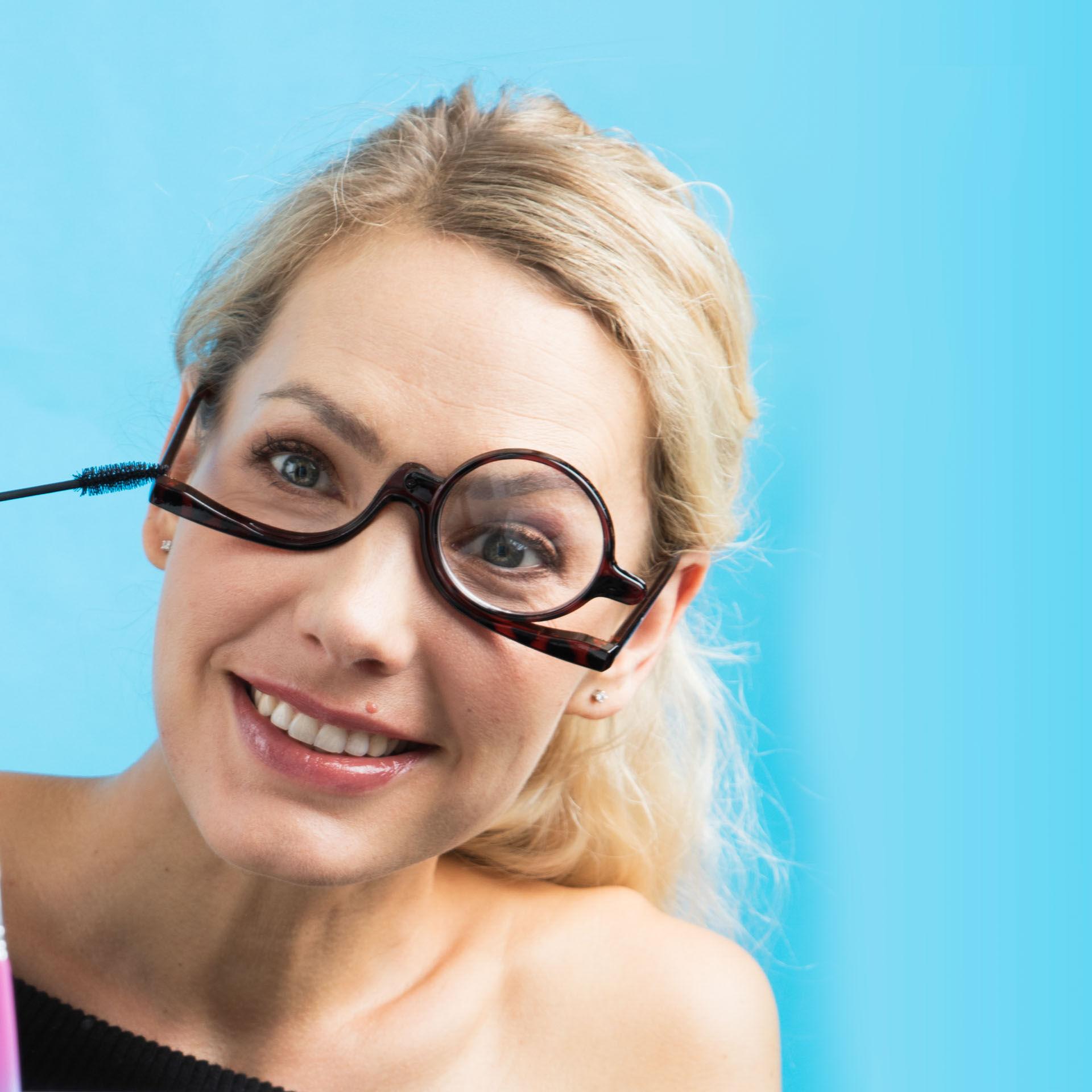 Lunettes de maquillage à une seule lentille, , large