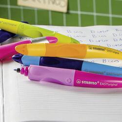 Penna Roller Ergonomic -STABILO EASYoriginal per Destrimani in Blu/Azzurro, , large