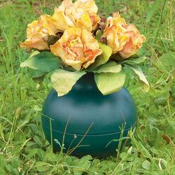 Vaso per fiori recisi colore verde, , large