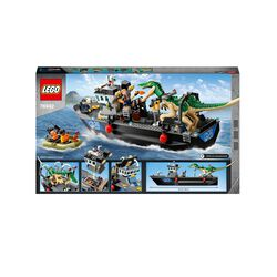 LEGO Jurassic World Fuga sulla Barca del Dinosauro Baryonyx, Regalo per Bambini 76942, , large