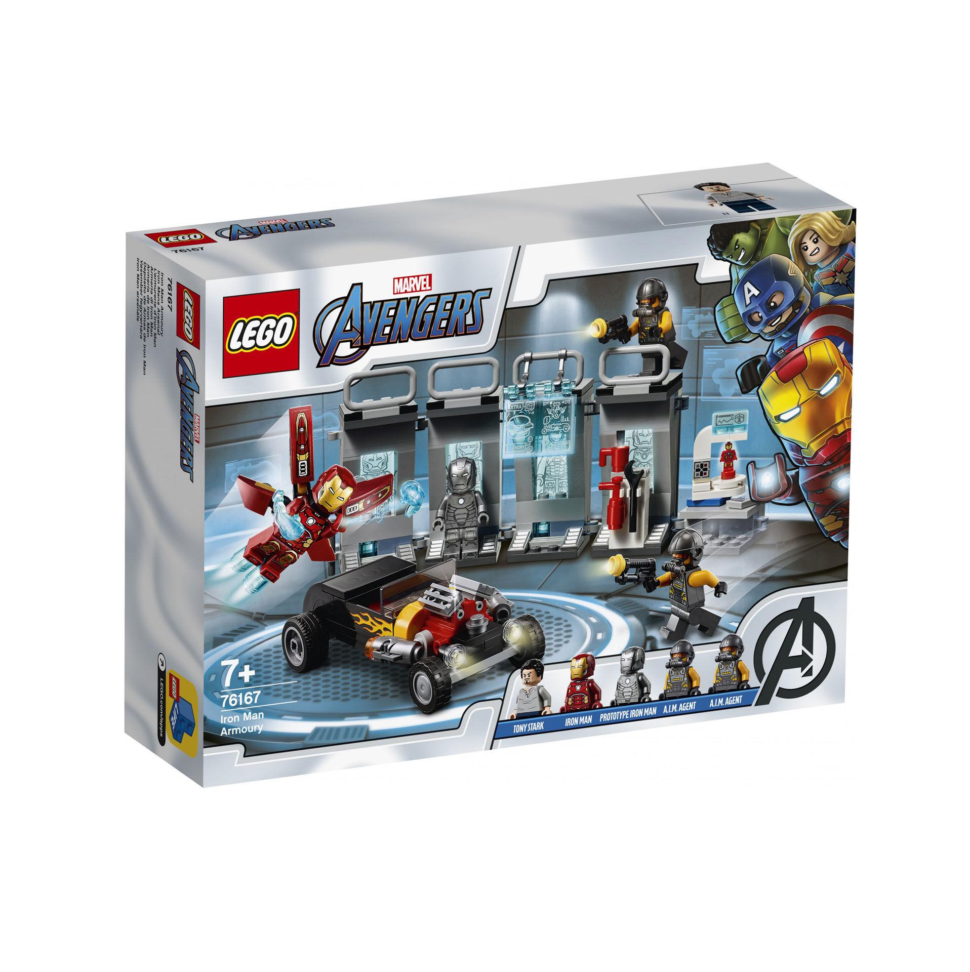 L'armurerie d'Iron Man 76167, , large