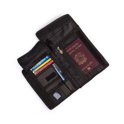 Borsello porta documenti da viaggio con protezione RFID, , large