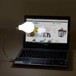 Luce USB Lampadina, , large