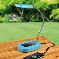 Lampada con pannello solare piu' ricarica cellulare, , large