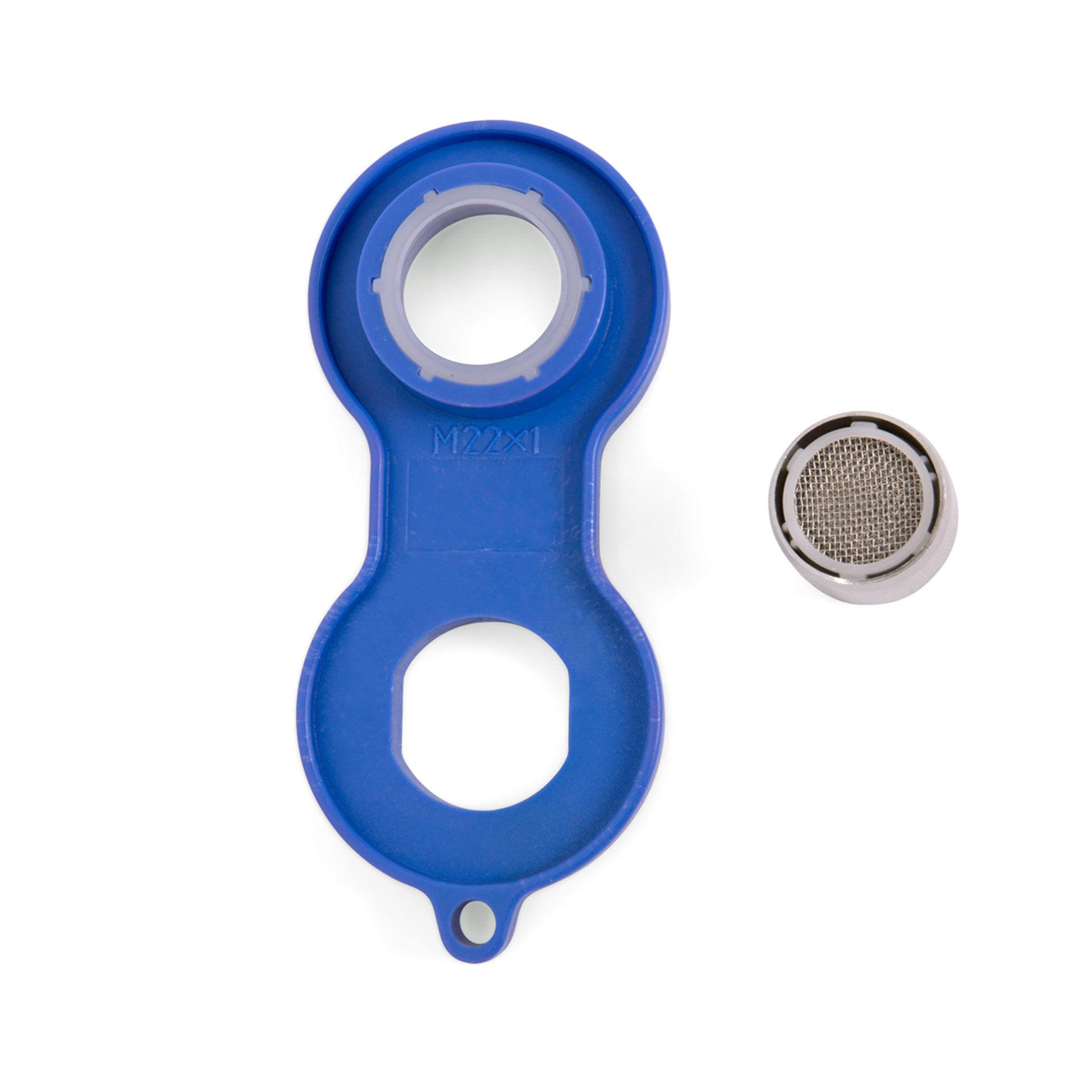 Kit brise-jet pour robinet - mâle et femelle, , large