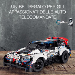 Auto da Rally Top Gear telecomandata 42109, , large