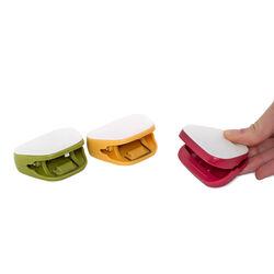 Clip chiudi sacchetti con lavagnetta, Set 3 Pz, , large