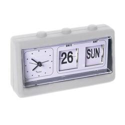 Orologio da tavolo con calendario, , large