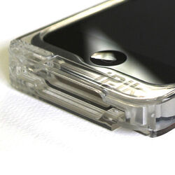 Custodia trasparente per iPhone 4/4S con treppiede, , large