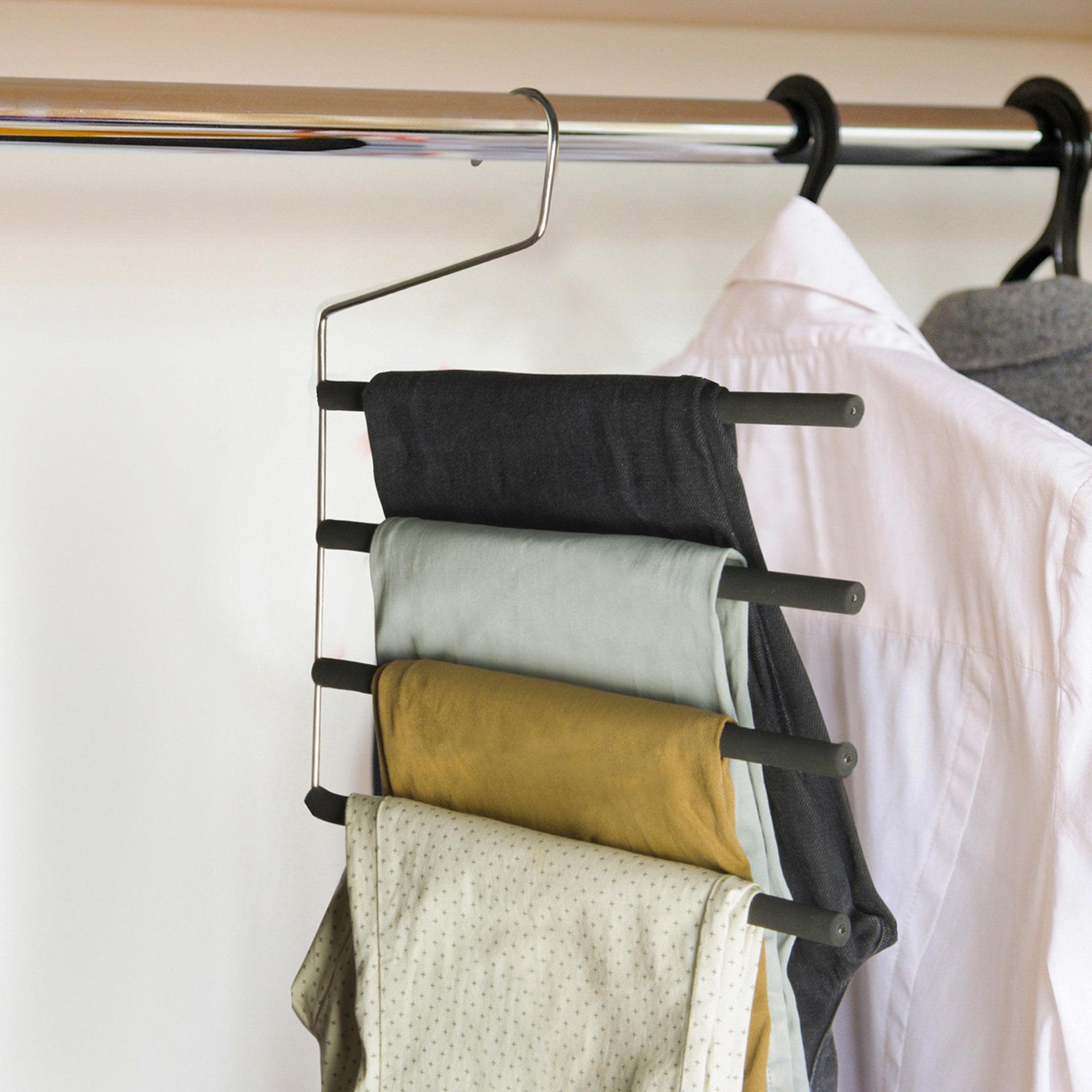 Cintre pour pantalons - 4 barres, , large