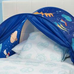 Tenda pop up da letto blu, , large
